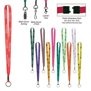 Polyester Value Lanyard