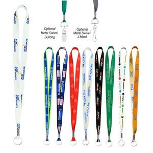 "Full Color Imprint Smooth Dye Sublimation Lanyard - 3/4"" x 36"""