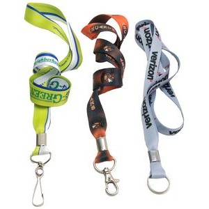 "5/8"" Full Color Dye Sublimation Lanyard"