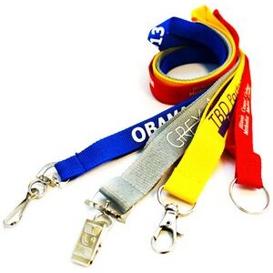 "3/4"" Economy Custom Polyester Lanyards (20 mm) Wide"